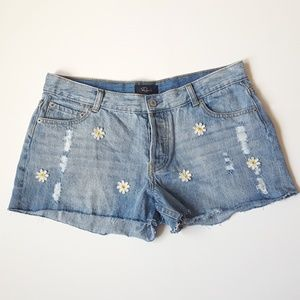 Rails Denim Shorts Jesse Vintage Daisy 29